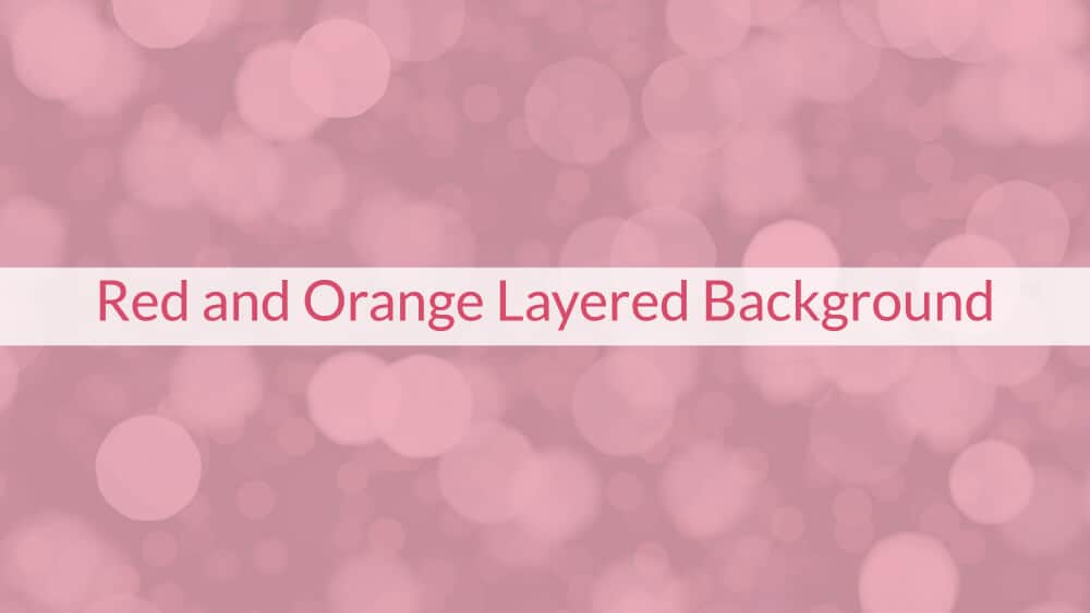 Red and Orange Layered Background