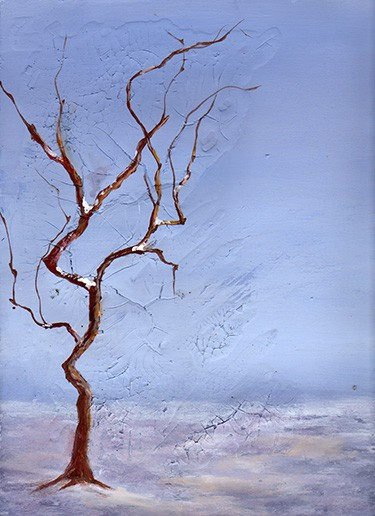 paint a leafless tree
