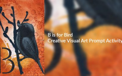 Creative Visual Art Prompt Activity – B is for Bird