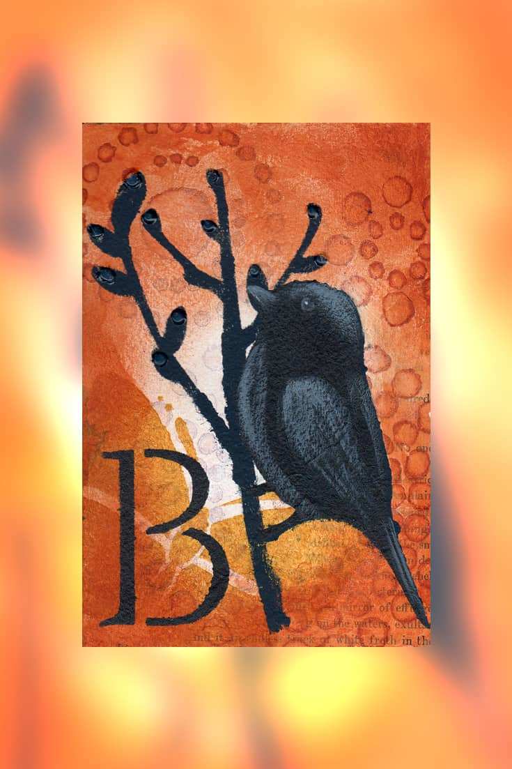 B is for Bird - Creative Visual Art Prompt Activity