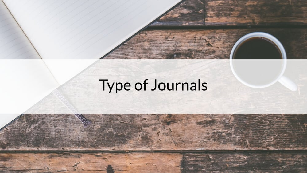 Type of Journals