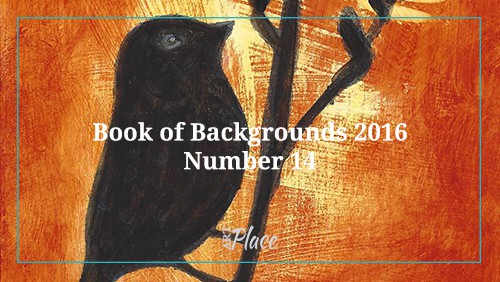 bird silhouette book of backgrounds