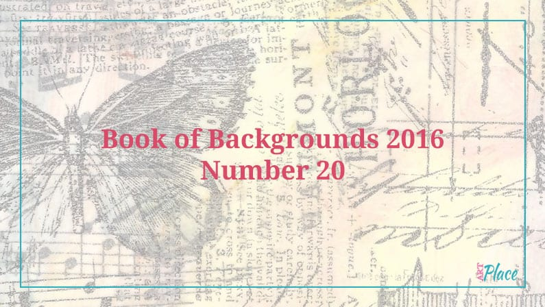 Decoart Glass Stain - Book of Backgrounds 2016, Number 20