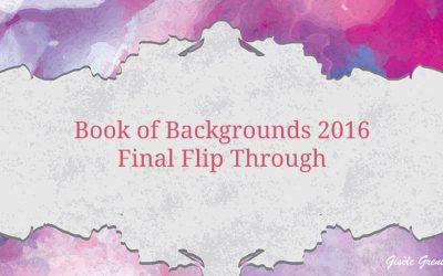 Book of Backgrounds 2016, Final Flip Through
