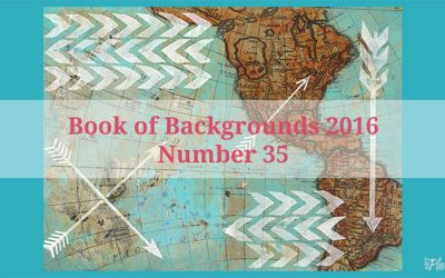 Where I Am and Where I Want to Go – Travel Art Journal Page in Book of Backgrounds 2015 #35