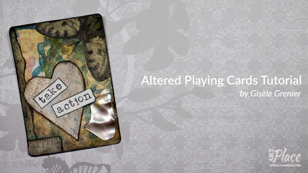 Here's an Altered Playing Card Tutorial so You Can Create an Artist Trading Card Featuring What You Love