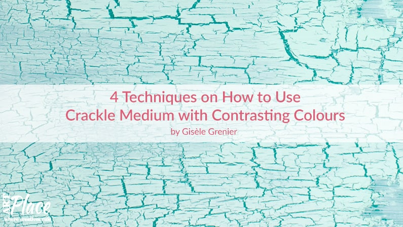 4 Techniques on How to Use Crackle Medium with Contrasting Colours for Home Decor