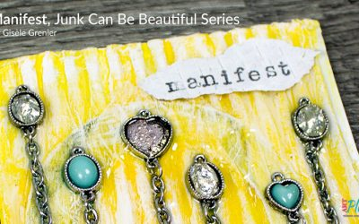 Mixed Media Collage Art with Jewelry – Junk Can Be Beautiful Series