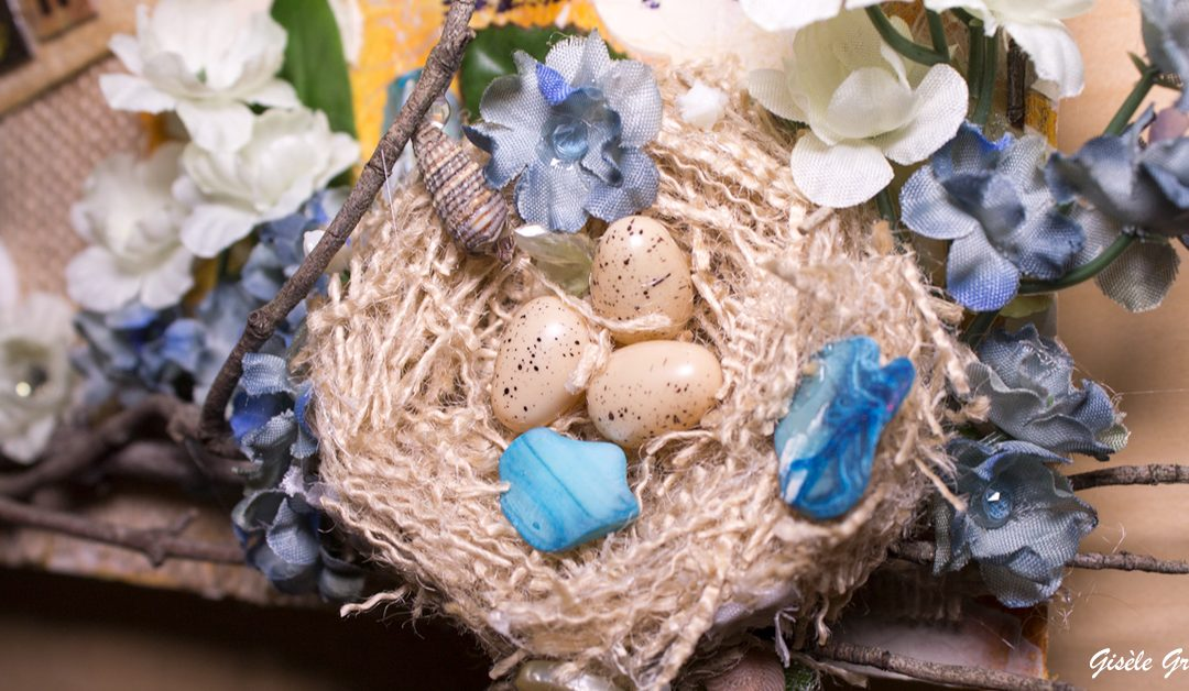 How to Make a Bird Nest for Your Next Art Project