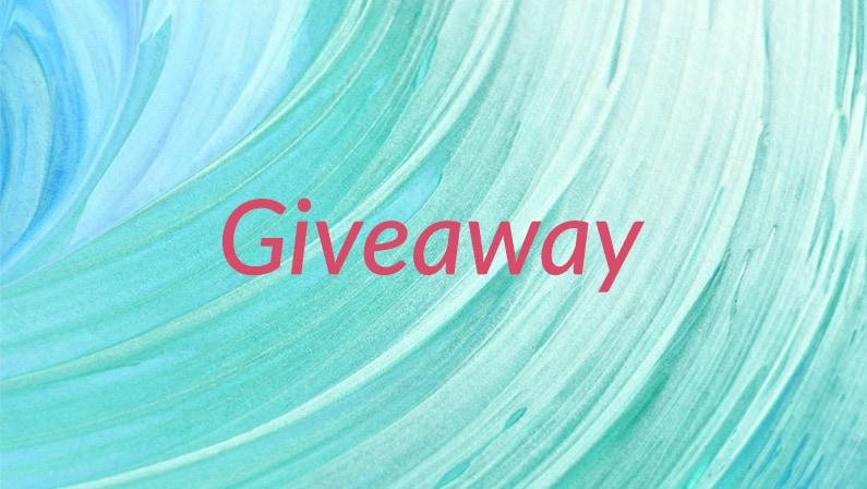 Welcome February, it's giveaway time!