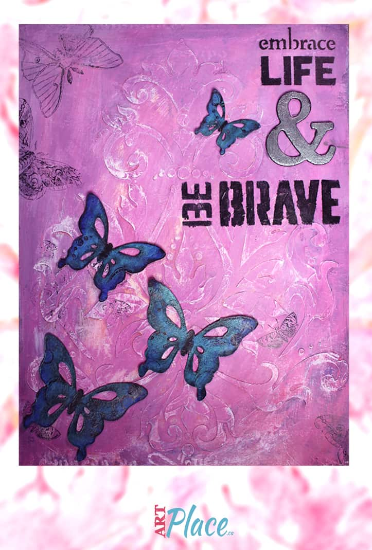 Art Journal Idea Using Quotes to Jump Start Your Creativity