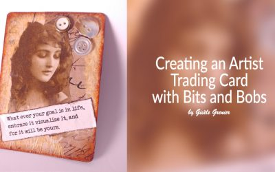 Creating Artist Trading Cards with Bits and Bobs