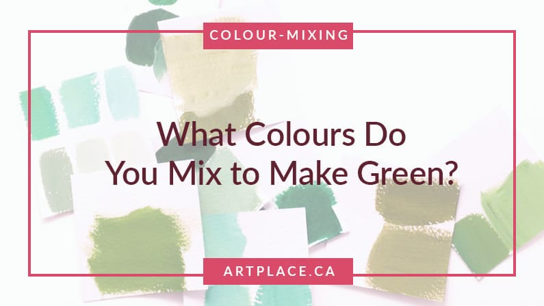 What Colours Do You Mix to Make Green?