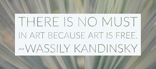 Copying Old Masters - Kandinsky Quote