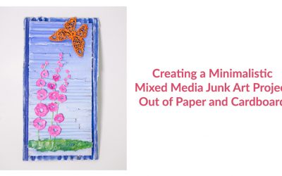 Challenge: Minimalistic Mixed Media Art Project Out of Paper and Cardboard