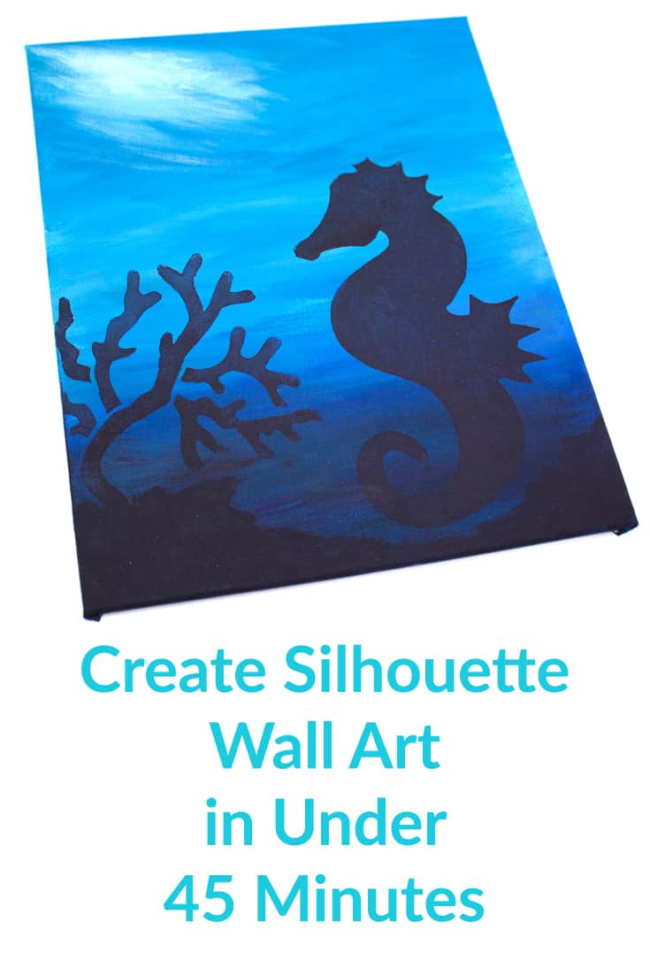 Creating Silhouette Wall Art in Under 45 Minutes