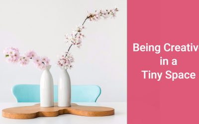 Being Creative in a Tiny Space and Keeping it Tidy