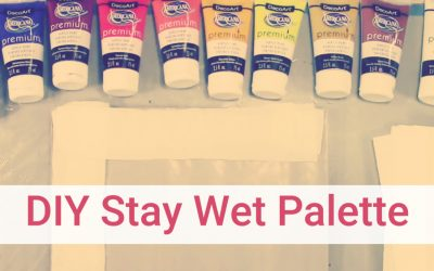 How to Setup a Wet Palette the Cheap and Easy Way