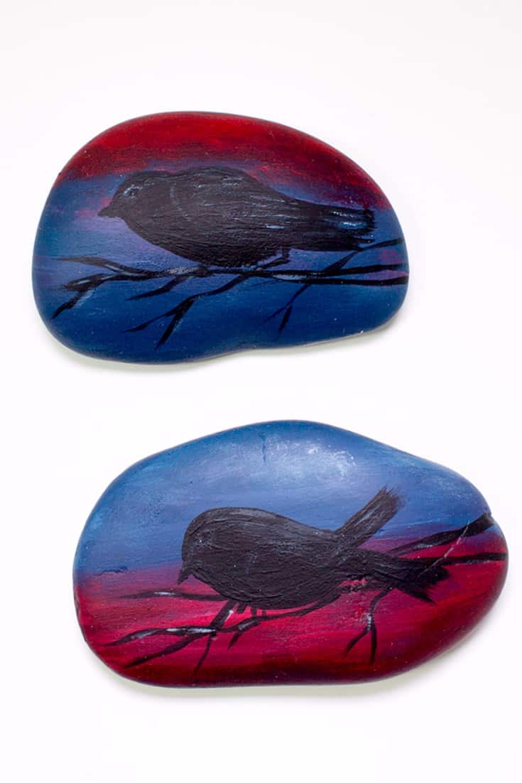 How to Paint Dramatic, Quick and Easy Spirit Stones