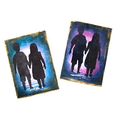 Quick and Easy Silhouette Artist Trading Cards
