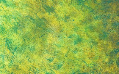 Stipple, Scumble and Drybrush with Bright Yellow Greens