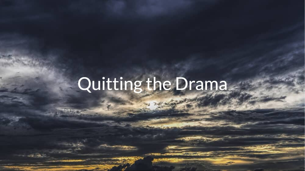 Quitting the Drama – Closed Down my FB Group