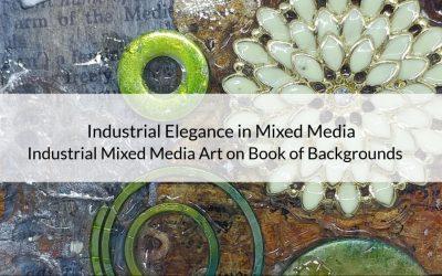 Industrial Elegance in Mixed Media