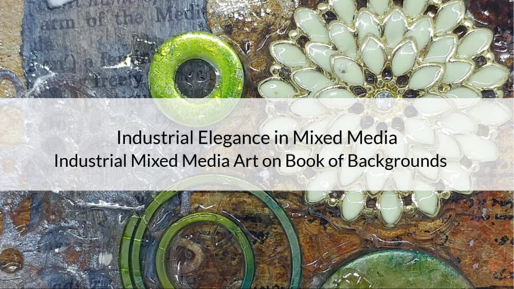 Industrial Elegance in Mixed Media