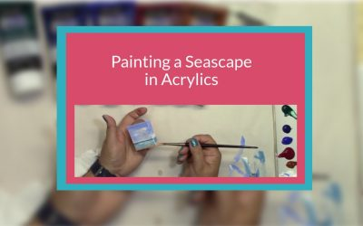Painting a Seascape in Acrylics Miniature Art