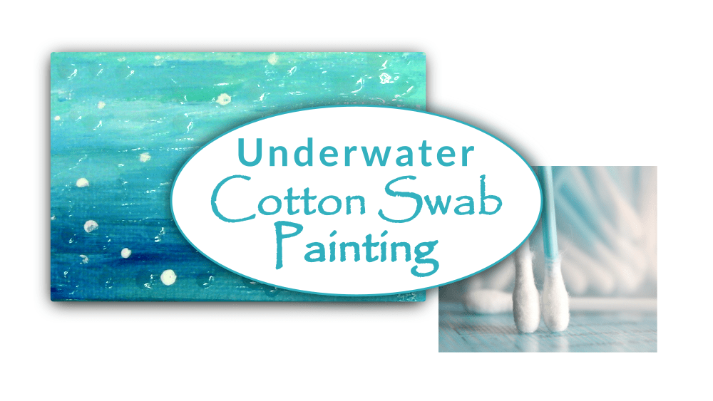 Underwater Cotton Swab Painting