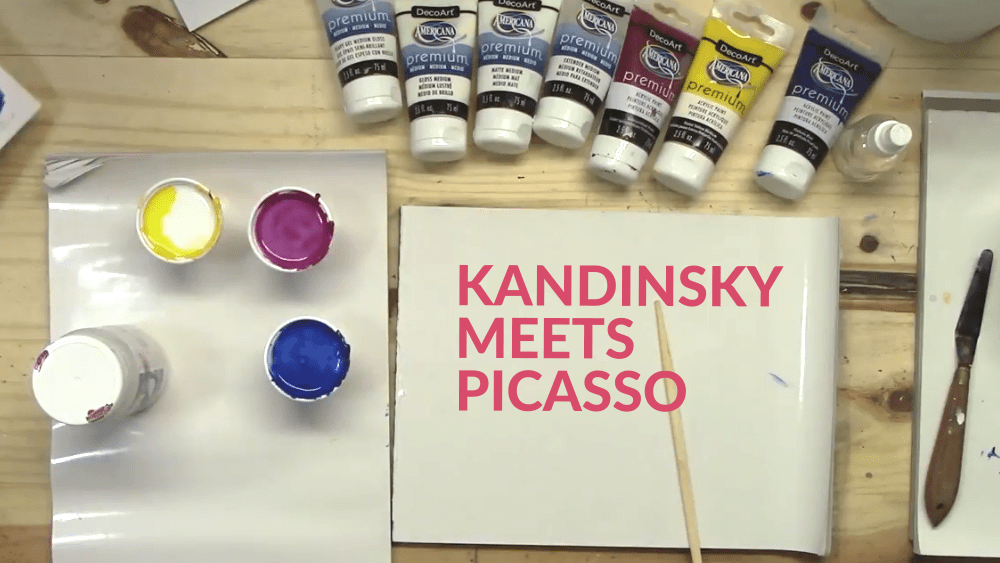 What Happens when Kandinsky Meets Picasso