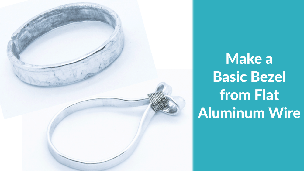 How to Make a Basic Bezel for your Artwork using Flat Aluminum Wire