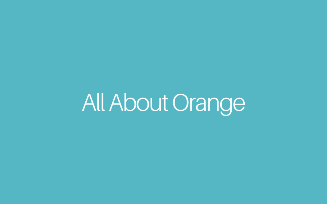 All About Orange