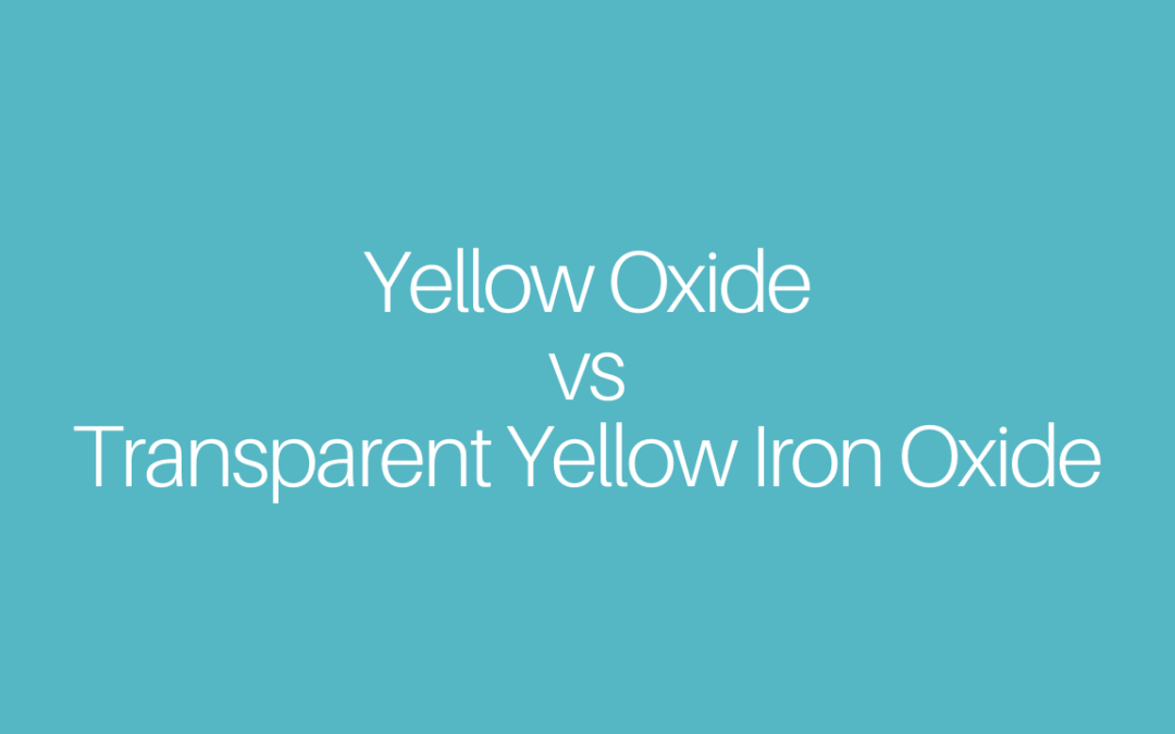 Buy or DIY – Yellow Oxide vs TYIO